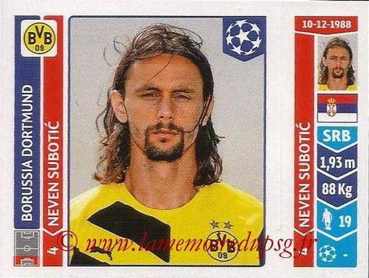 2014-15 - Panini Champions League N° 274 - Neven SUBOTIC (Borussia Dortmund)