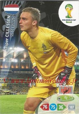 2014 - Panini FIFA World Cup Brazil Adrenalyn XL - N° 251 - Jasper CILLESSEN (Pays-Bas)