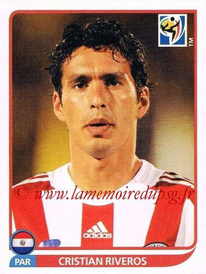 2010 - Panini FIFA World Cup South Africa Stickers - N° 439 - Cristian RIVEROS (Paraguay)