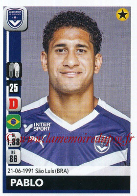 2018-19 - Panini Ligue 1 Stickers - N° 056 - PABLO (Bordeaux)