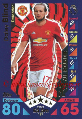 2016-17 - Topps Match Attax Premier League - N° 187