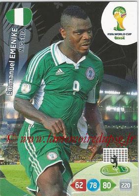 2014 - Panini FIFA World Cup Brazil Adrenalyn XL - N° 267 - Emmanuel EMENIKE (Nigeria)