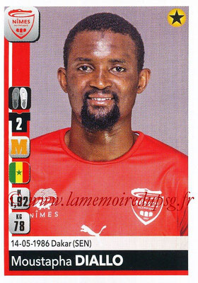 2018-19 - Panini Ligue 1 Stickers - N° 335 - Moustapha DIALLO (Nîmes)