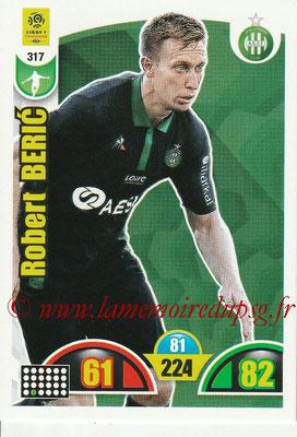 2018-19 - Panini Adrenalyn XL Ligue 1 - N° 317 - Robert BERIC (Saint-Etienne)