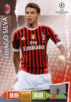 2011-12 - Panini Champions League Cards - N° 160 - Thiago SILVA (Milan AC)