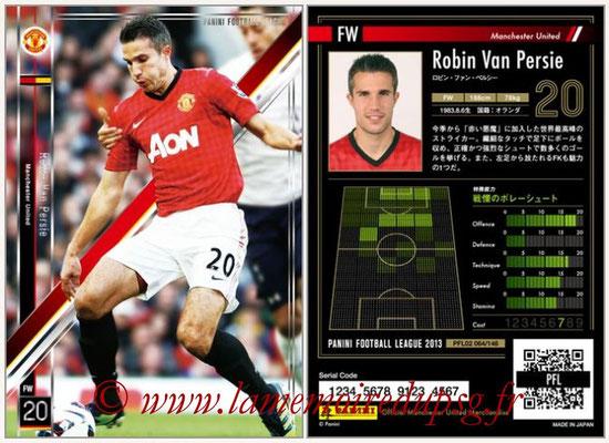 Panini Football League 2013 - PFL02 - N° 064 - Robin Van Persie ( Manchester United  )