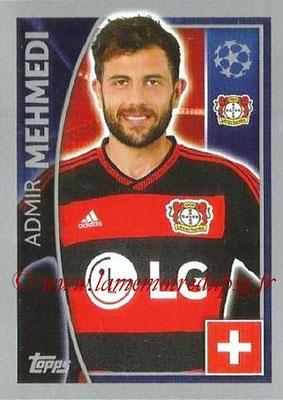 2015-16 - Topps UEFA Champions League Stickers - N° 331 - Admir MEHMEDI (Bayer 04 Leverkusen)