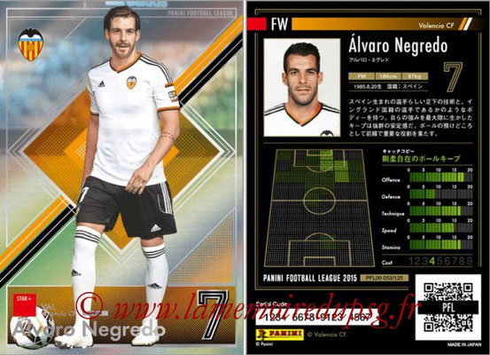 Panini Football League 2015 - PFL09 - N° 053 - Alvaro NEGREDO (FC Valence) (Star +)