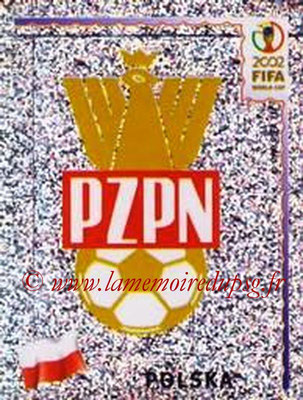 2002 - Panini FIFA World Cup Stickers - N° 260 - Logo Pologne