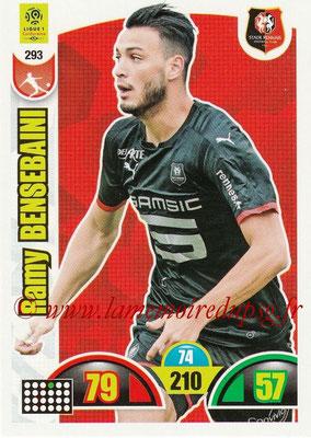 2018-19 - Panini Adrenalyn XL Ligue 1 - N° 293 - Ramy BENSEBAINI (Rennes)