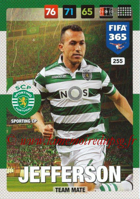 2016-17 - Panini Adrenalyn XL FIFA 365 - N° 255 - JEFFERSON (SportIng CP)