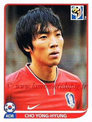 2010 - Panini FIFA World Cup South Africa Stickers - N° 148 - Cho YONG-HYUNG (Corée du Sud)