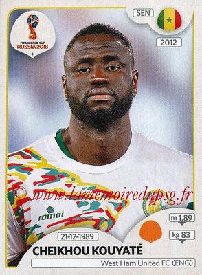 2018 - Panini FIFA World Cup Russia Stickers - N° 622 - Cheikhou KOUYATE (Senegal)