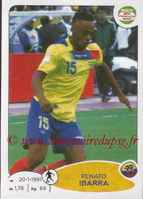 2014 - Panini Road to FIFA World Cup Brazil Stickers - N° 197 - Renato IBARRA (Equateur)