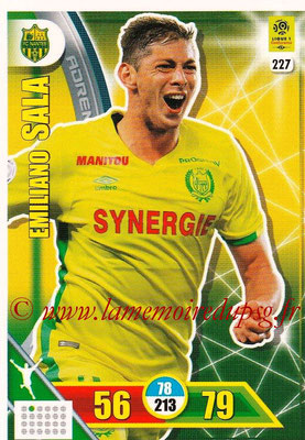 2017-18 - Panini Adrenalyn XL Ligue 1 - N° 227 - Emiliano SALA (Nantes)