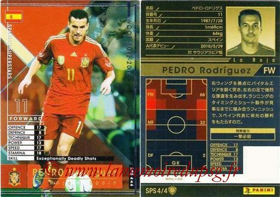 2013-14 - WCCF - N° SPS4 - Pedro RODRIGUEZ (Espagne) (Spanish Superstars)