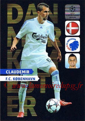 2013-14 - Adrenalyn XL champions League N° NE08 - CLAUDEMIR (FC Copenhague) (Danmarksmester) (Nordic edition)