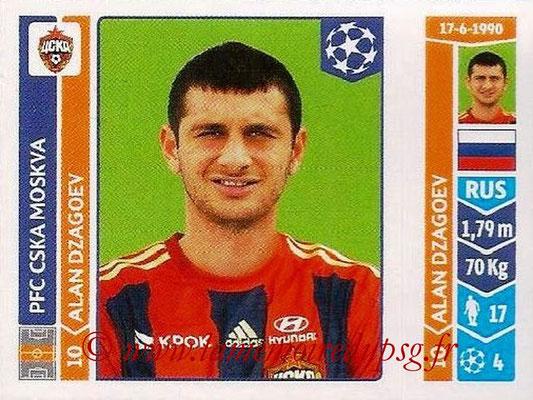 2014-15 - Panini Champions League N° 389 - Alan DZAGOEV (PFC CSKA Moscou)