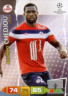 2011-12 - Panini Champions League Cards - N° 123 - Aurélien CHEDJOU (Lille)