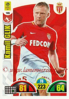 2018-19 - Panini Adrenalyn XL Ligue 1 - N° 165 - Kamil GLIK (Monaco)