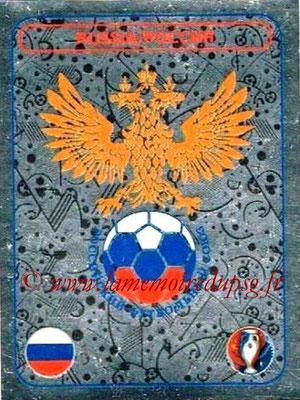 Panini Euro 2016 Stickers - N° 124 - Logo Russie