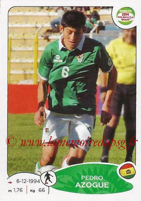 2014 - Panini Road to FIFA World Cup Brazil Stickers - N° 150 - Pedro AZOGUE (Bolivie)