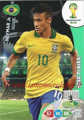 2014 - Panini FIFA World Cup Brazil Adrenalyn XL - N° 060 - NEYMAR (Brésil)