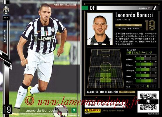 Panini Football League 2015 - PFL11 - N° 006 - Leonardo BONUCCI (Juventus FC)