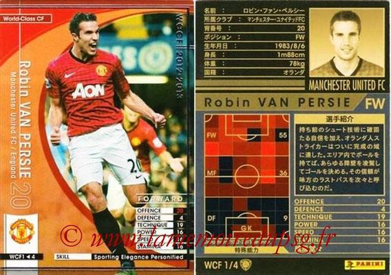 2012-13 - WCCF - N° WCF1 - Robin VAN PERSIE (Manchester United FC) (World Class CF)