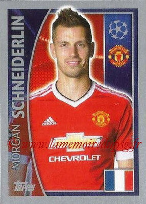 2015-16 - Topps UEFA Champions League Stickers - N° 110 - Morgan SCHNEIDERLIN (Manchester United FC)