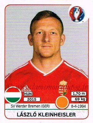 Panini Euro 2016 Stickers - N° 674 - Laszlo KLEINHEISLER (Hongrie)