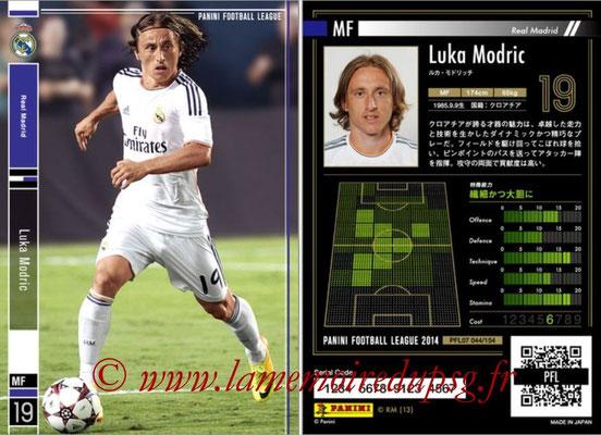 Panini Football League 2014 - PFL07 - N° 044 - Luka MODRIC (Real Madrid)