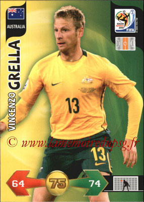 2010 - Panini FIFA World Cup South Africa Adrenalyn XL - N° 027 - Vincenzo GRELLA (Autralie)
