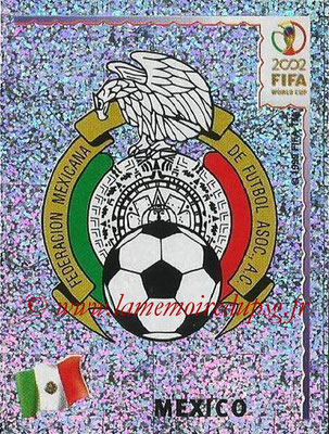 2002 - Panini FIFA World Cup Stickers - N° 494 - Logo Mexique