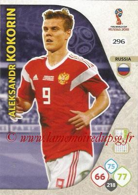 2018 - Panini FIFA World Cup Russia Adrenalyn XL - N° 296 - Aleksandr KOKORIN (Russie)
