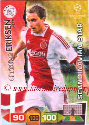 2011-12 - Panini Champions League Cards - N° 356 - Christian ERIKSEN (AFC Ajax) (Scandinavian Star)