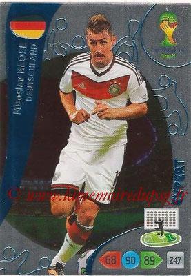 2014 - Panini FIFA World Cup Brazil Adrenalyn XL - N° 380 - Miroslav KLOSE (Allemagne) (Expert)