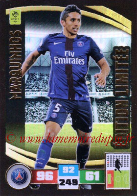2016-17 - Panini Adrenalyn XL Ligue 1 - N° LE-MR - MARQUINHOS (Paris Saint-Germain) (Edition Limitée)