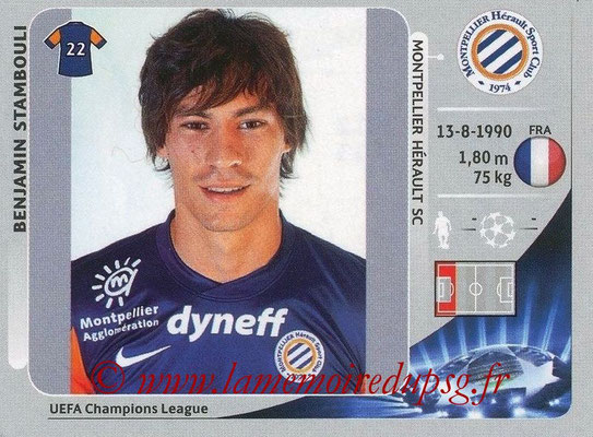 N° 142 - Benjamin STAMBOULI (2012-13, Montpellier > 2015-??, PSG)