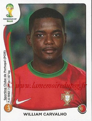 2014 - Panini FIFA World Cup Brazil Stickers - N° 520 - William CARVALHO (Portugal)