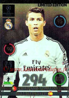 2014-15 - Adrenalyn XL champions League N° LE-CR - Cristiano RONALDO (Real Madrid) (Limited Edition)