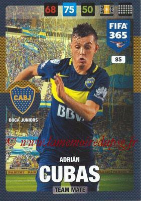 2016-17 - Panini Adrenalyn XL FIFA 365 - N° 085 - Adrian CUBAS (CA Boca Junior)