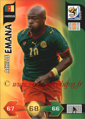 2010 - Panini FIFA World Cup South Africa Adrenalyn XL - N° 057 - Achille EMANA (Cameroun)
