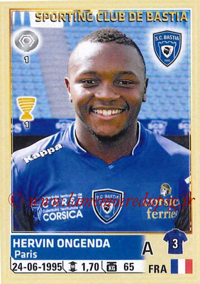 2014-15 - Panini Ligue 1 Stickers - N° 020 - Hervin ONGENDA (SC Bastia)