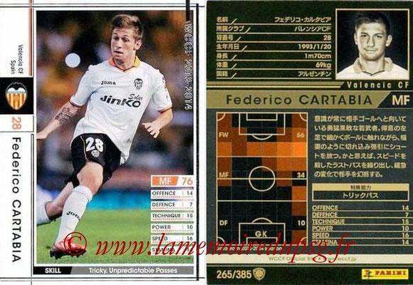 2013-14 - WCCF - N° 265 - Federico CARTABIA (FC Valence)