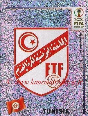 2002 - Panini FIFA World Cup Stickers - N° 567 - Logo Tunisie