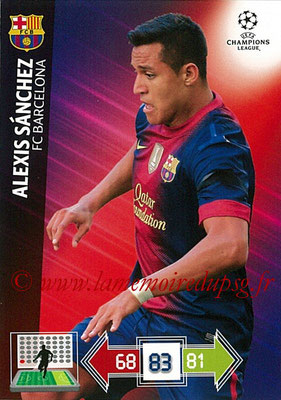 2012-13 - Adrenalyn XL champions League N° 041 - Alexi SANCHEZ (FC Barcelone)
