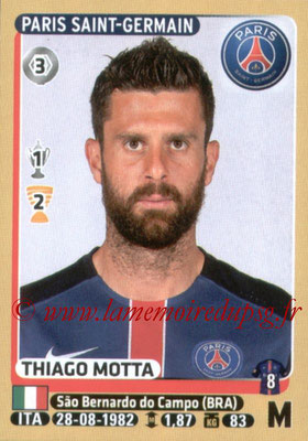 2015-16 - Panini Ligue 1 Stickers - N° 350 - Thiago MOTTA (Paris Saint-Germain)