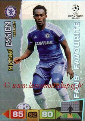 2011-12 - Panini Champions League Cards - N° 305 - Michael ESSIEN (Chelsea FC) (Fans' Favourite)