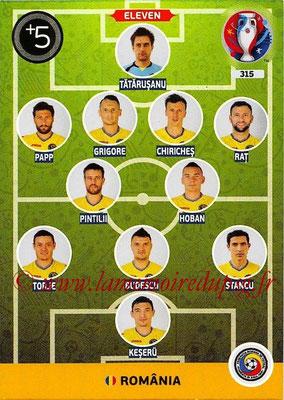 Panini Euro 2016 Cards - N° 315 - Équipe Type de Roumanie